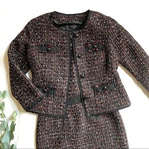 TAHARI | ASL | tweed dress & suit jacket EUC sz 6